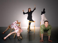 "Guro Rimeslåtten, Nina Braathen, Christer Tornell in ""A Circle within a Spiral"" Photo: Peter Lodwick"
