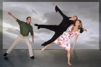 ",Christer Tornell, Nina Braathen, Guro Rimeslåtten in ""A Circle within a Spiral"" Photo: Peter Lodwick"